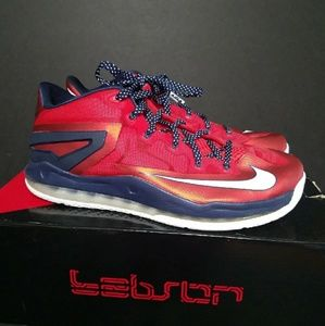 Nike LeBron 11 Low Independence Day